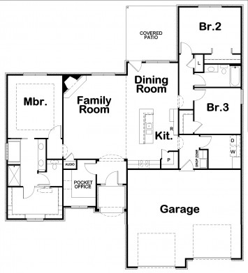 Carly II FLR DD Floor Plan Artwork