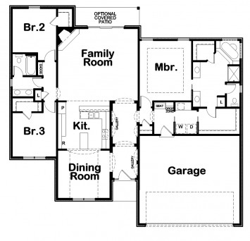 Vivian FLR SD Floor Plan Artwork
